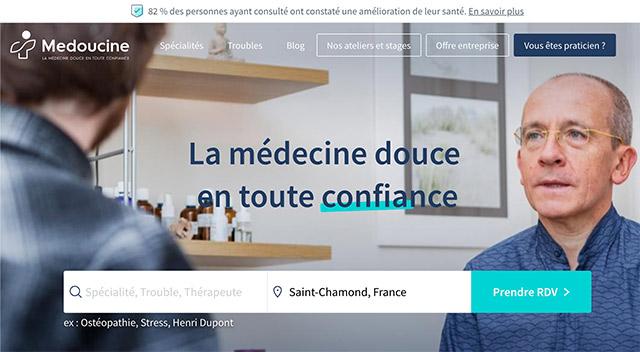 Medoucine - annuaire de médecines douces et alternatives