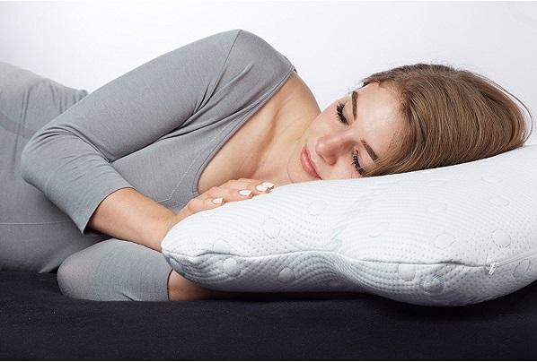 dormir avec un oreiller a memoire de forme