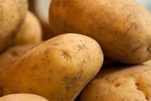 patates en lot jaunes