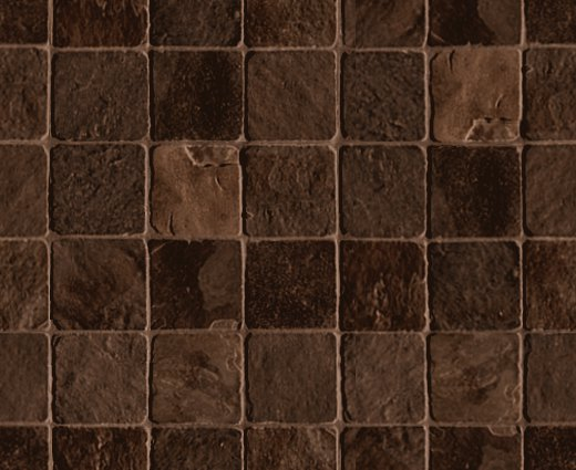 Stone Tile Background Dark Brown Seamless Background Or