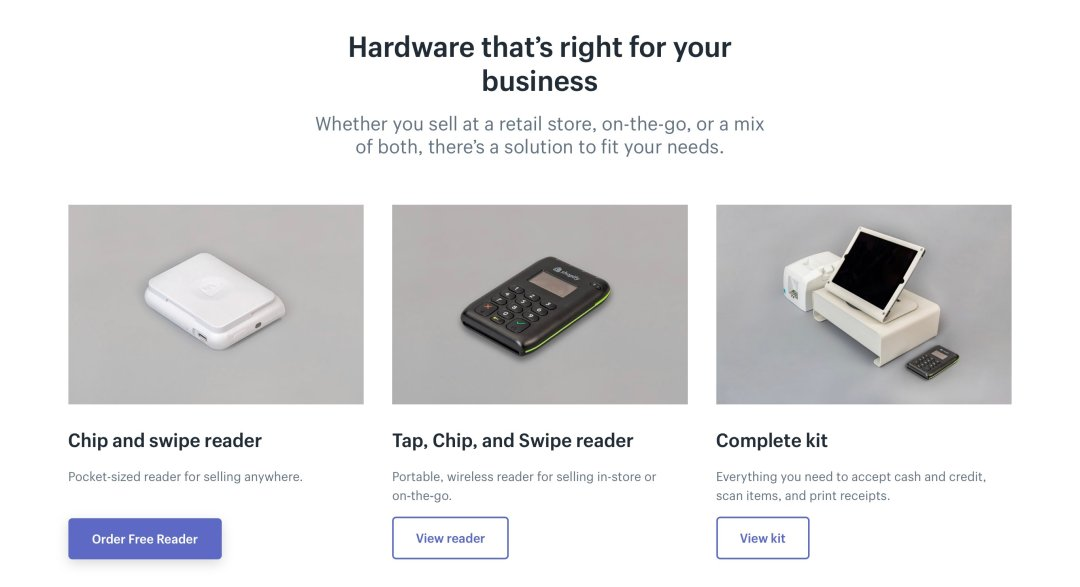 Available Shopify POS Hardware