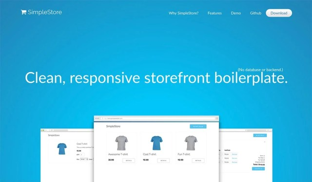 SimpleStore Opensource eCommerce