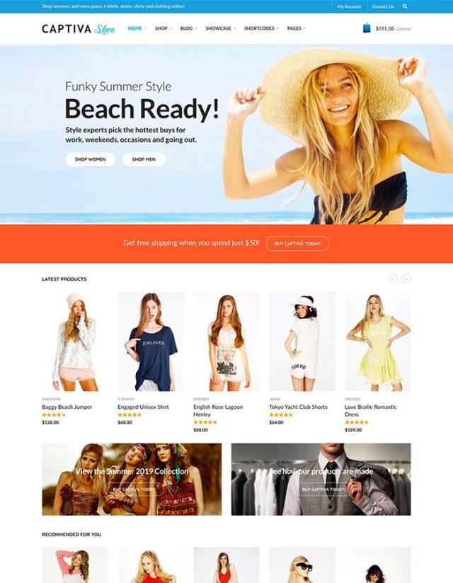 Captiva Homepage One