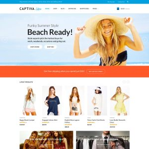 Captiva WooCommerce Theme
