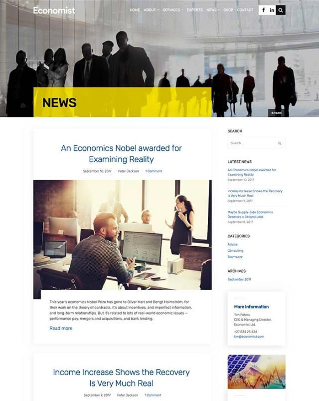 Economist News