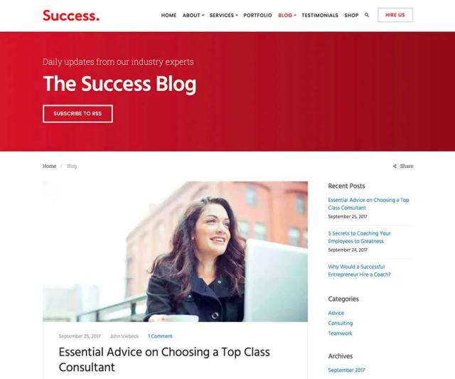 Success Blog