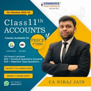 Class 11th Accounts