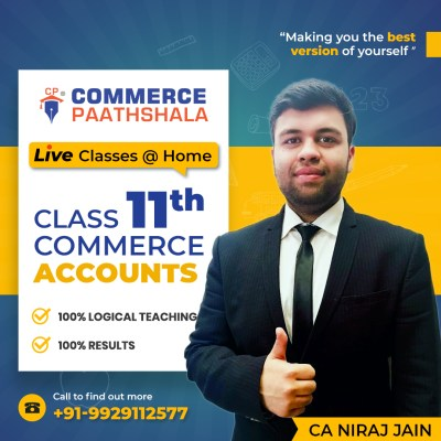 Class 11th Commerce - Live Classes @ Home