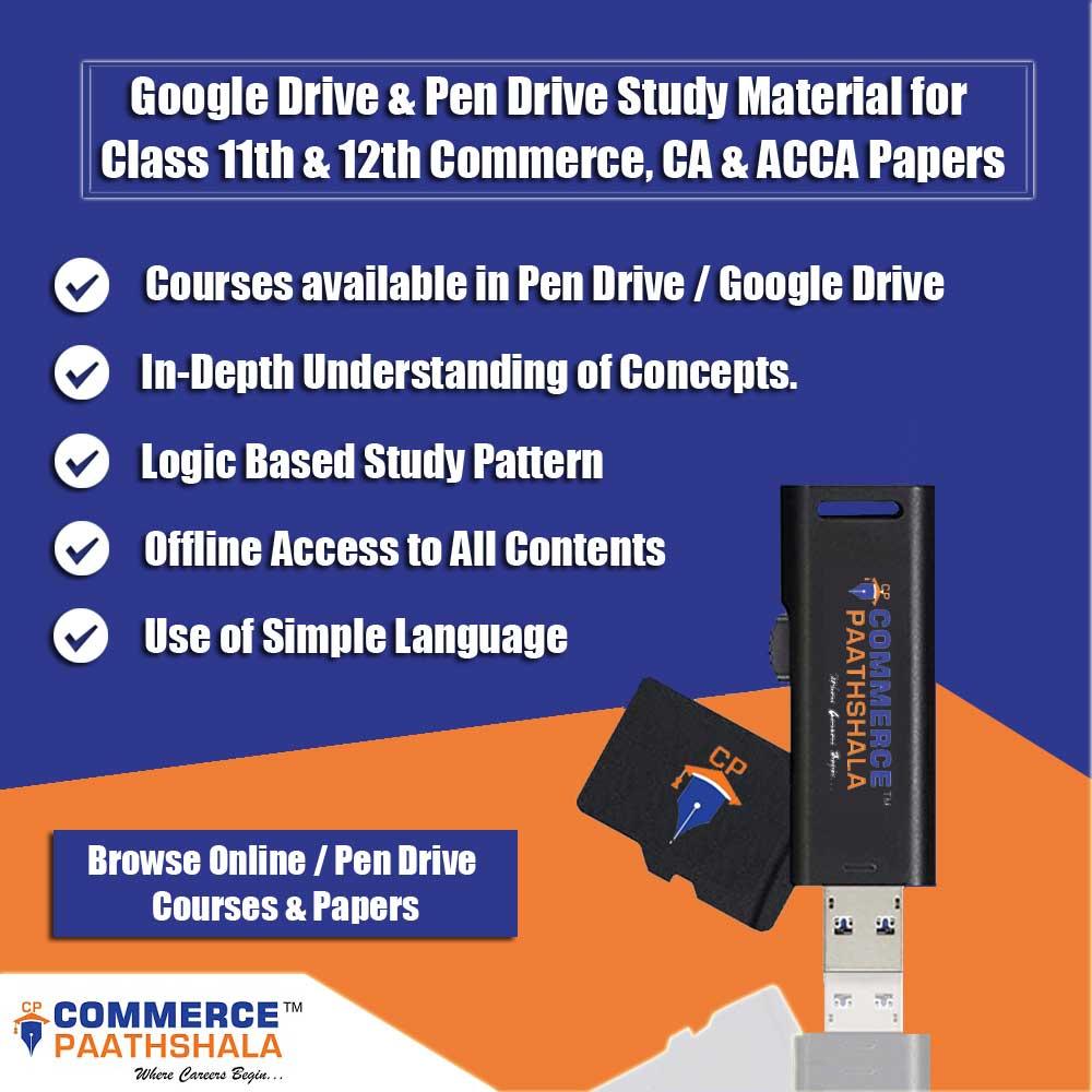 Online / Pen Drive Commerce Courses