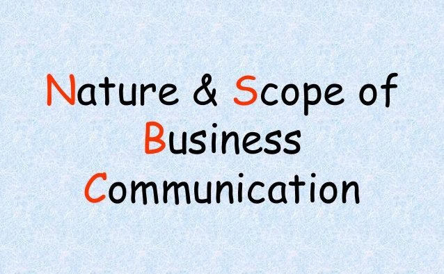 Nature And Scope of Business