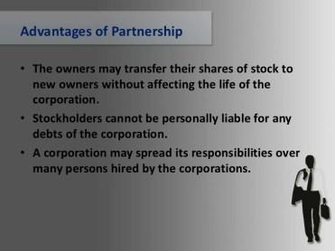 advantages and disadvantages of partnership