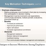 Techniques to Increase Motivation Among Employees