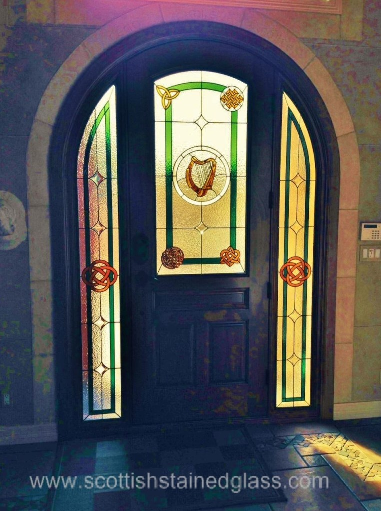 Entryway Stained Glass Celtic