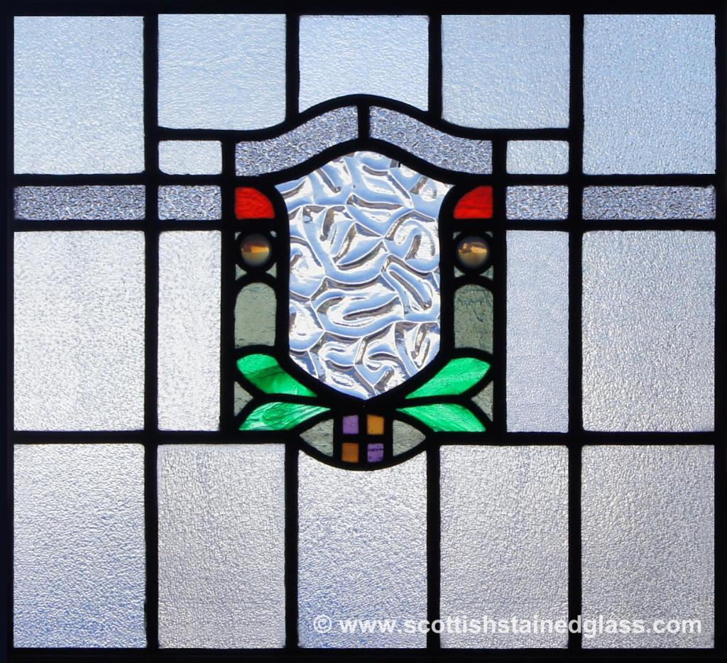 Religious Stained Glass Square