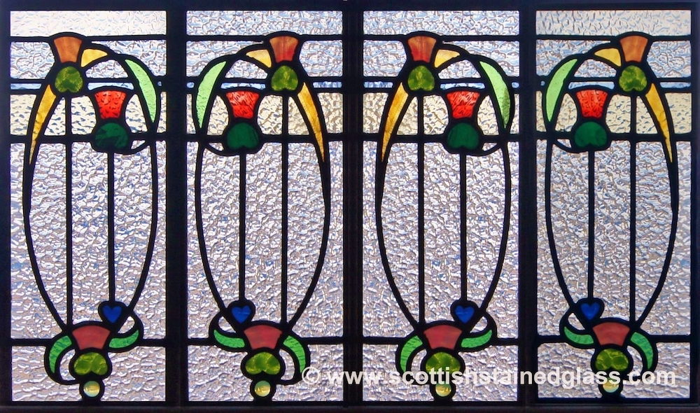 Religious Stained Glass pattern