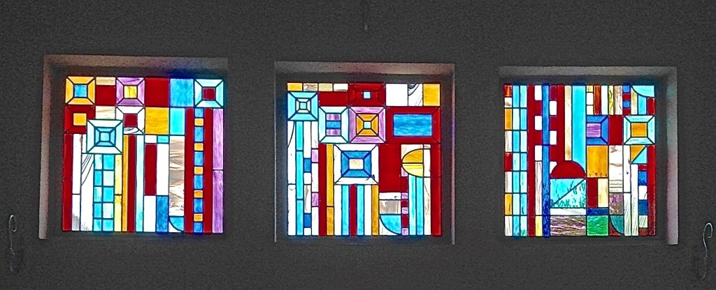 Religious Stained Glass suqares