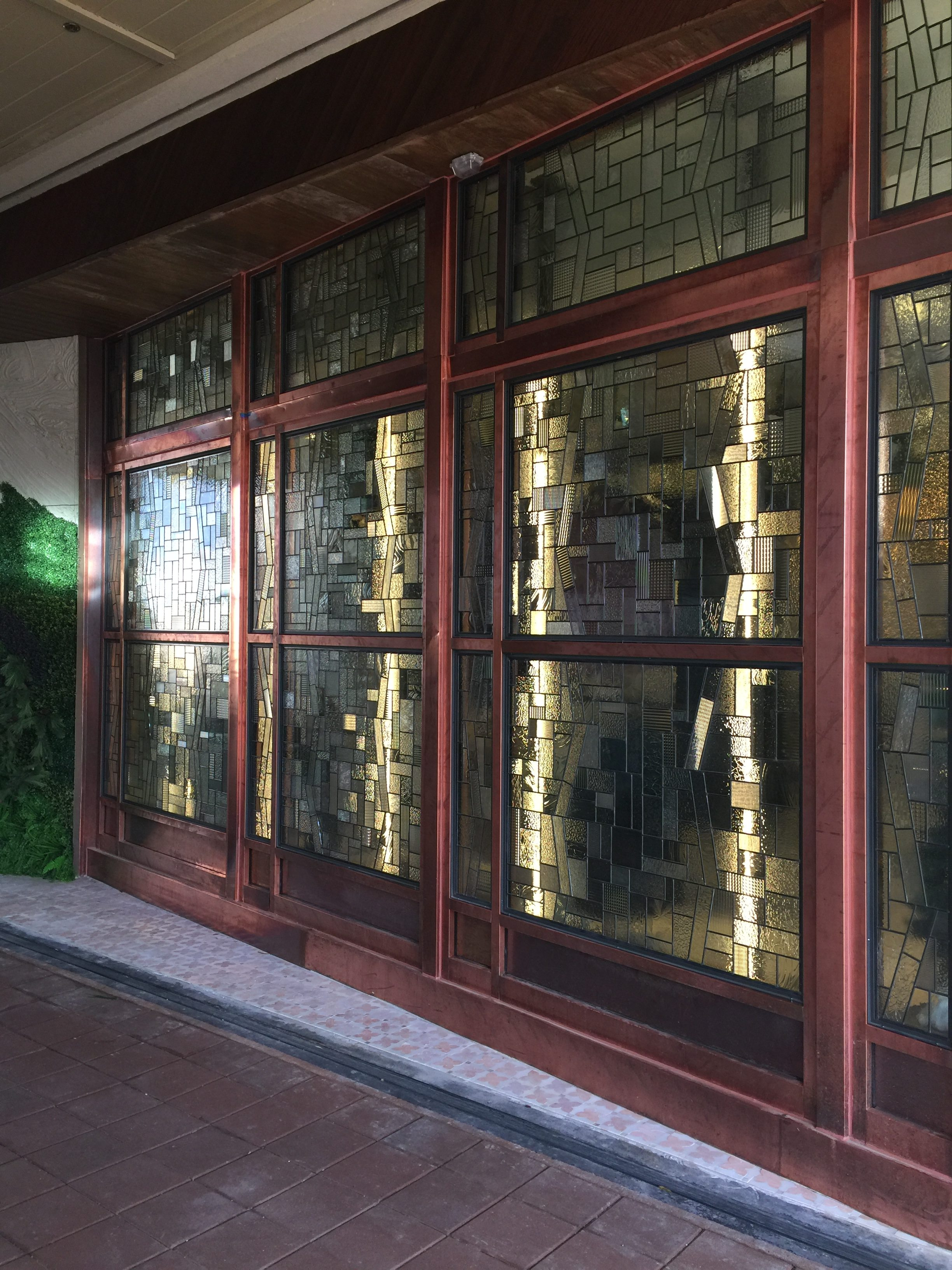 commercial stained glass art honolulu
