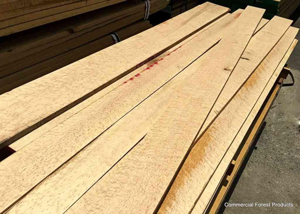 Roasted Birdseye Calico Maple