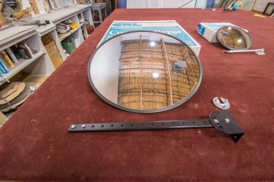 Convex Mirror Assembly Kit by CRL - A Cutting Edge Glass & Mirror