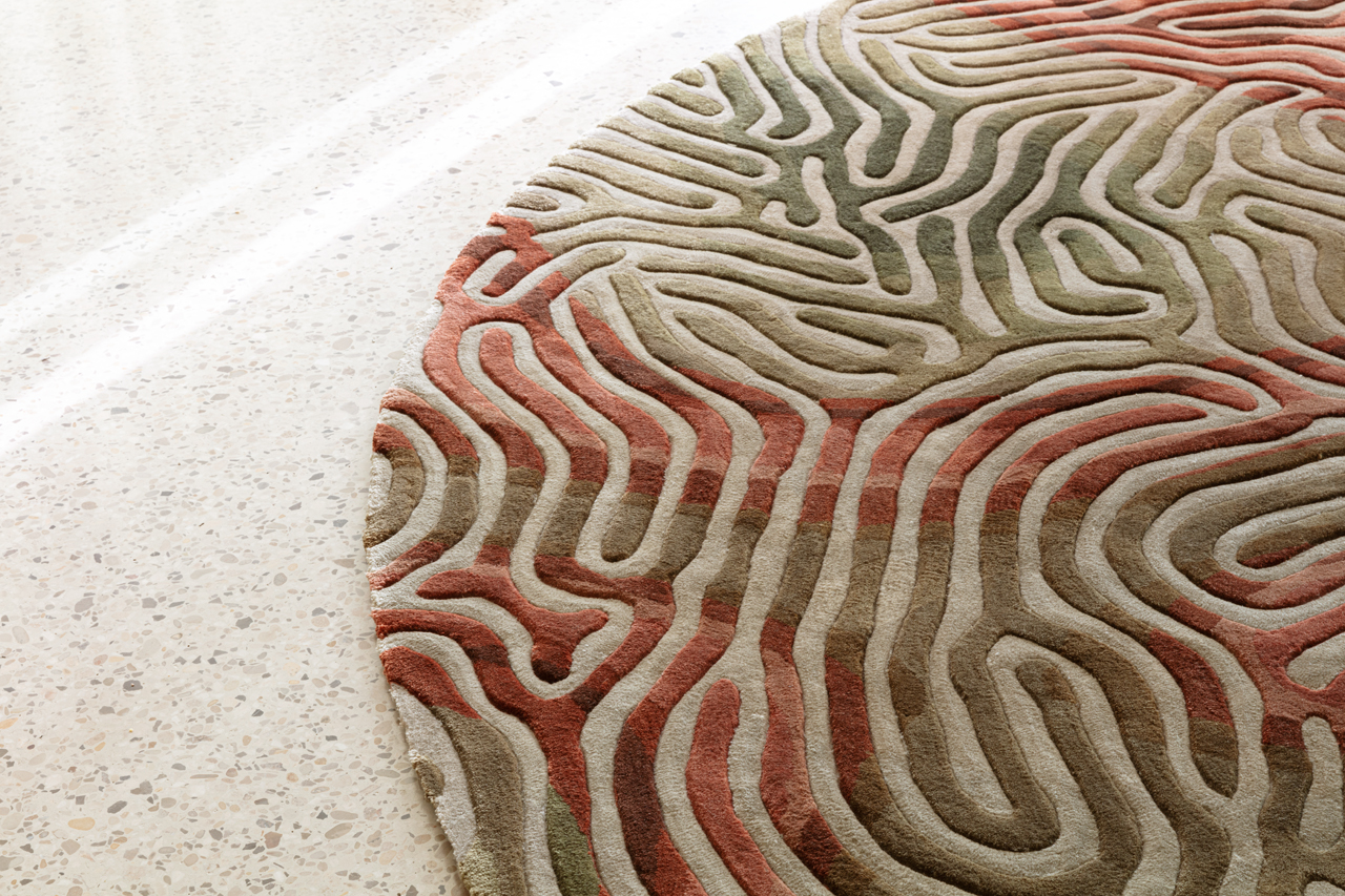 limited edition parallel brain carpets