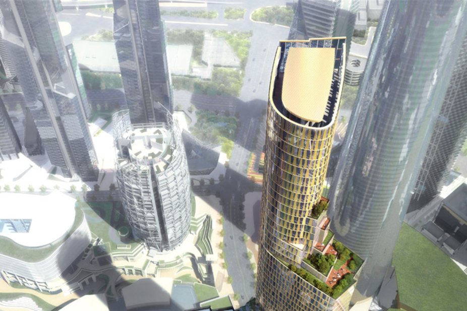 Pictures Kohn Pedersen Fox S Fractured Tower Insight