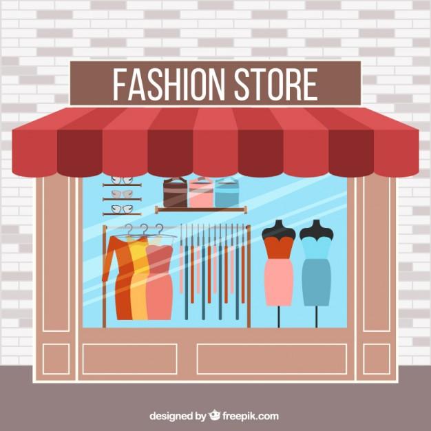 negozio di abbigliamento con impresa tasso zero