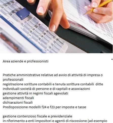servizi per aziende e professionisti