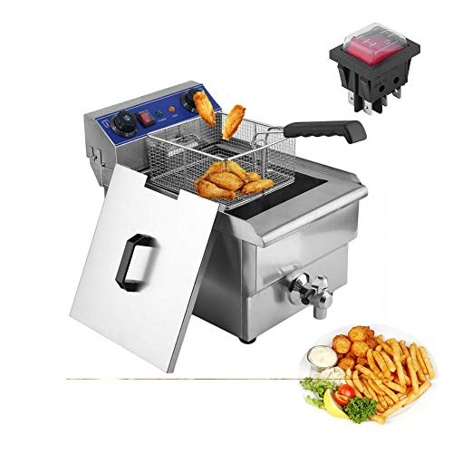Stainless Steel Double Commercial Fryer 2 new 6L