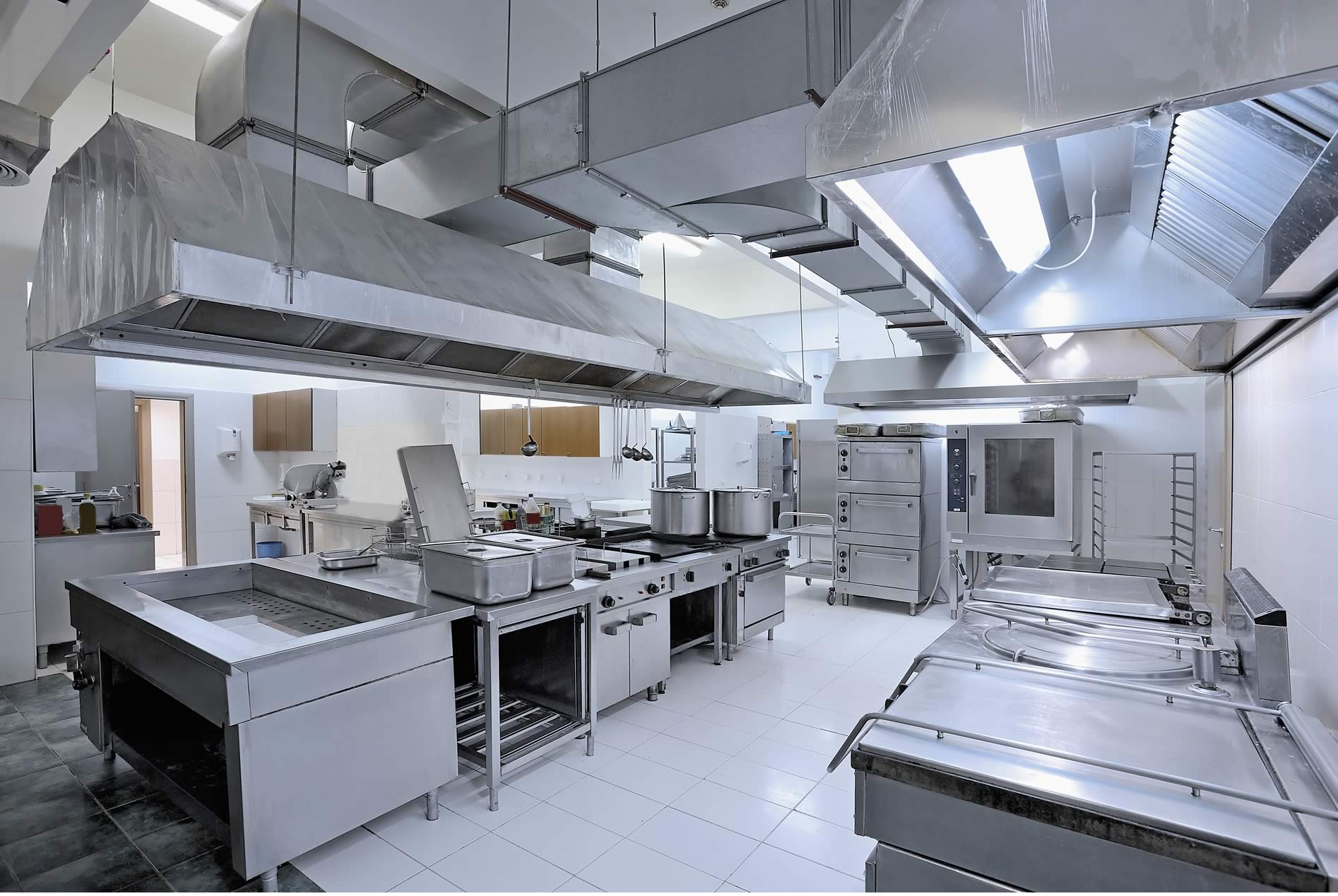 commercial stainless steel kitchens for schools
