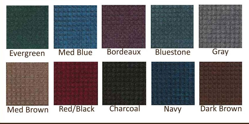 Waterhog Stair Treads Set Of 4 Indoor Outdoor Stair Mats   Outdoor Composite Stair Treads   Stone   Framed   Outside   Ready Made   Blocking