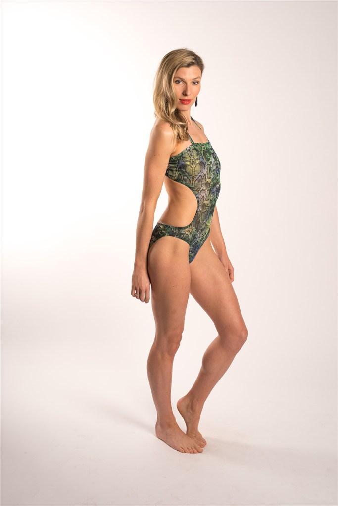 fashion photography shoot model in swimwear