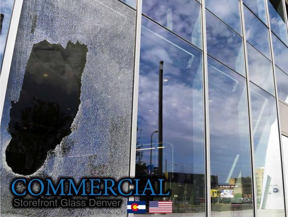 commercial glass denver window door install repair 125