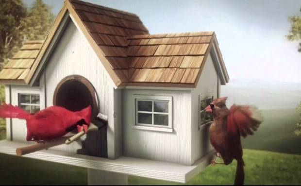 "Lowe's ""Birdhouse Remodel"" Commercial Song"