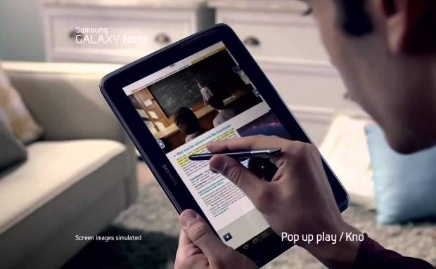 Samsung Galaxy Note 10.1 Commercial Commercial Song