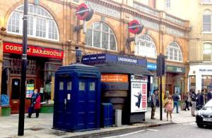 tardis earls court station