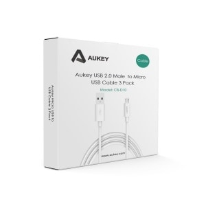 pack 3 cables aukey