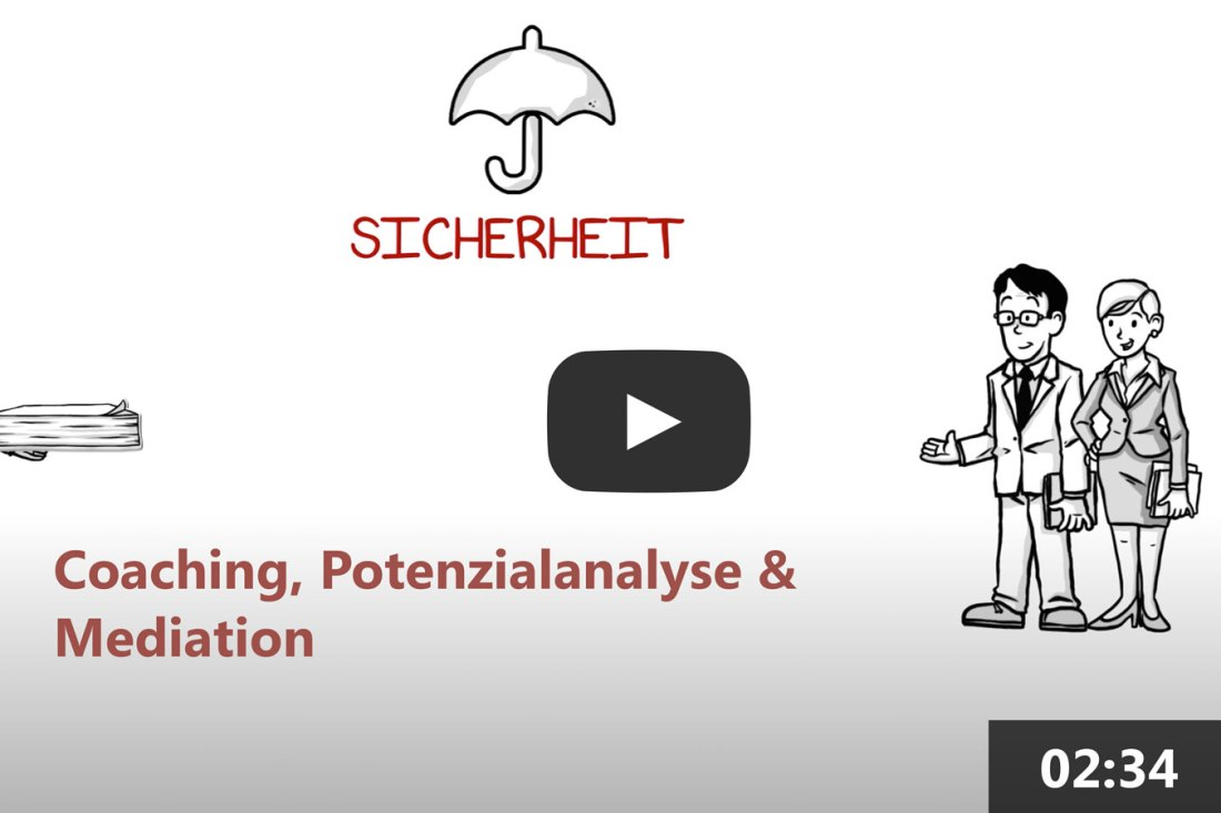 Coaching, Potenzialanalyse und Mediation