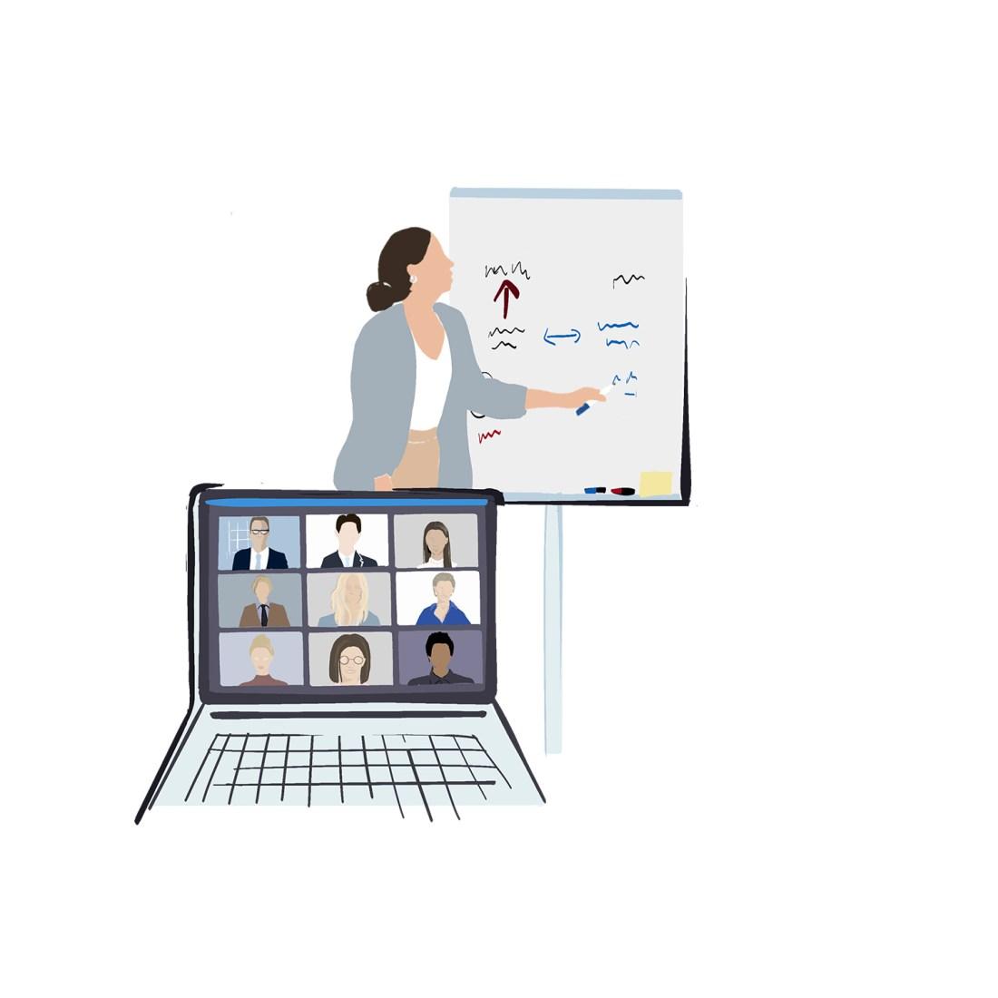 Webinar Mitarbeiterschulung Präsenz online
