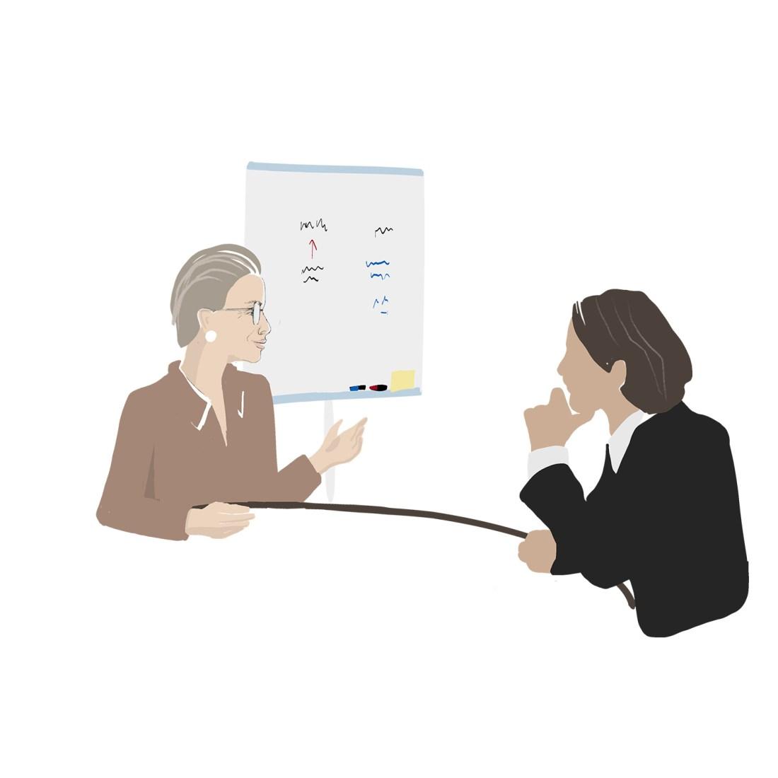 coach und coachee executive coaching business coach