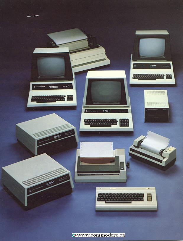 Commodore PET – The Worlds First Personal Computer - www.Commodore.ca