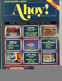 Ahoy! Issue 13 - September 1985 - Programs - Super 64 - Dock -Commodore Vic 20 & C64