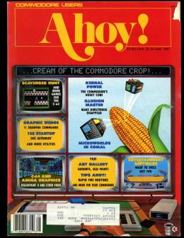 Ahoy! Issue 41 - May 1987 - Kernal Power - Master - Commodore Vic 20 & C64 128 Amiga