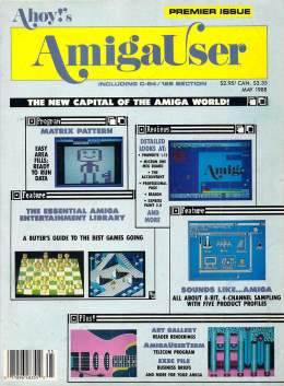 Ahoy! Amiga User 53 - May 1988 - Matrix - Art - Entertainment - Amiga User Tips and Tricks Amiga