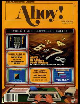 Ahoy! Issue 60 - December 1988 - Commodore Vic 20 & C64 128 Amiga
