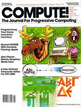 Compute! Magazine Issue #21 - February 1982