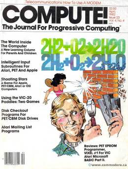 Compute! Magazine Issue #23 - April 1982