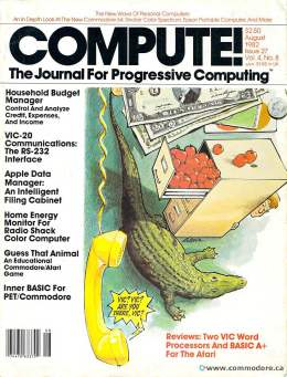 Compute! Magazine Issue #27 - August 1982