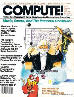 Compute! Magazine Issue #32 - January 1983