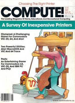 Compute! Magazine Issue #49 - June 1984