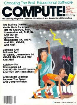 Compute! Magazine Issue #52 - Septebmer 1984